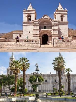 Desde Chivay hacia Arequipa