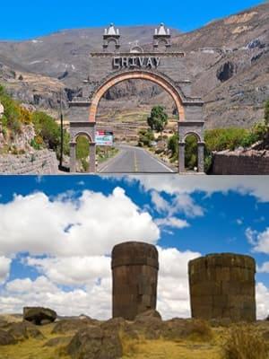 Desde Chivay hacia Puno