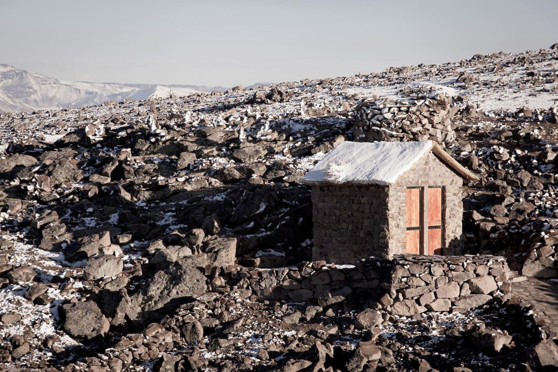 Abra de Patapampa 4950 metros sobre el nivel del mal. Mirador