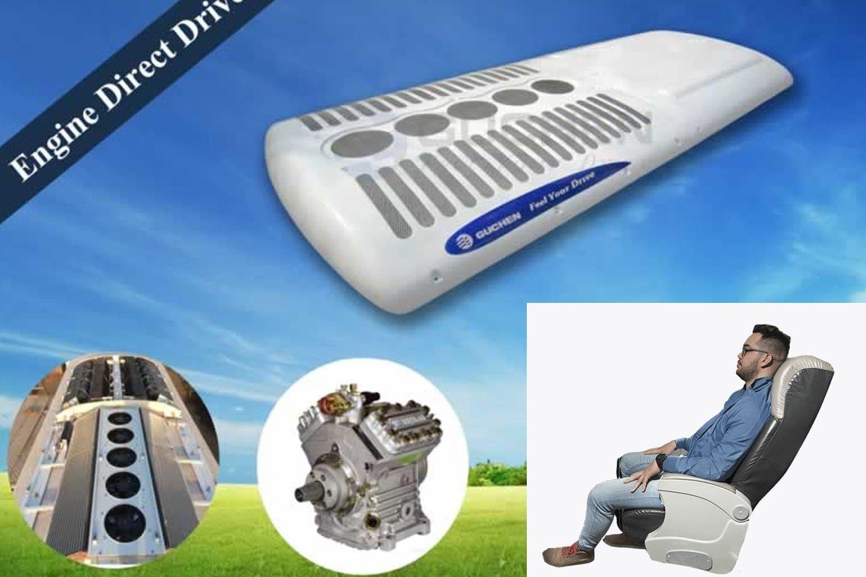 Se agregó un sistema de aire acondicionado para que siempre sienta la temperatura adecuada para usted