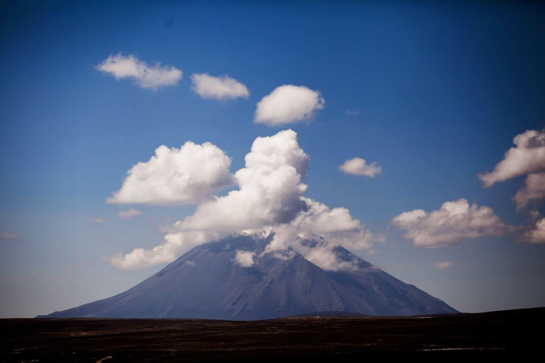 Misti es un estratovolcán. Su última erupción fue en 1985, 198 años después de su erupción documentada anterior: Perú con Bus 4M Express